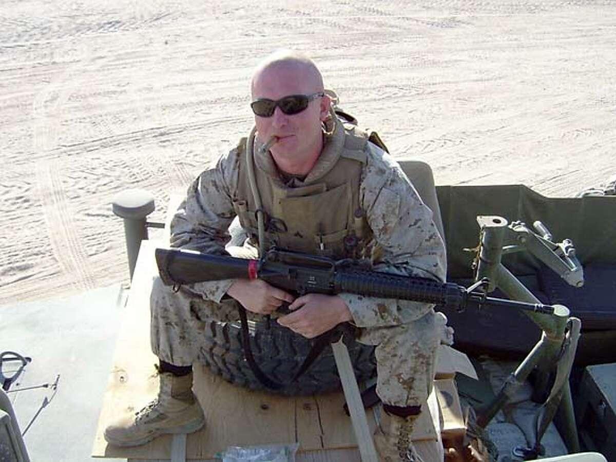� Daniel B. Cotnoir, Mortu ary Affairs, 1st Marine Expedi tionary Force, February�Septem ber 2004, Sunni Triangle, Marine Corps Times �Marine of the Year�