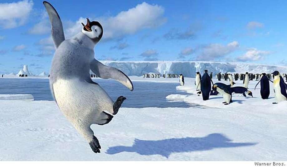 """Happy Feet"" Photo: Warner Bros."