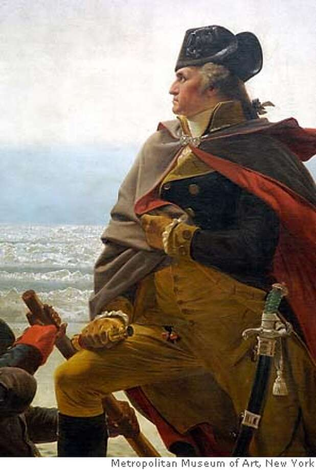 Detail, Emanuel Leutze (1816�1868) Washington Crossing the Delaware, 1851  Oil on canvas; 149 x 255 in. (378.5 x 647.7 cm)  Collection of Metropolitan Museum of Art, New York Photo: Collection Of Metropolitan Museu