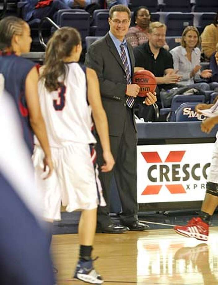 St. Mary's women's basketball coach Paul Thomas. Credit: Handout Photo: Handout