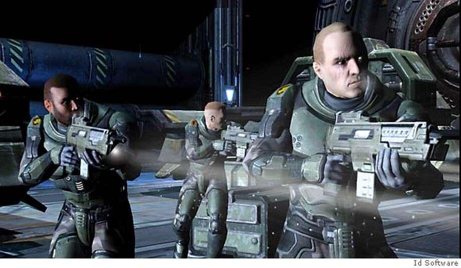 Xbox360 for Quake 4 Photo: Ho