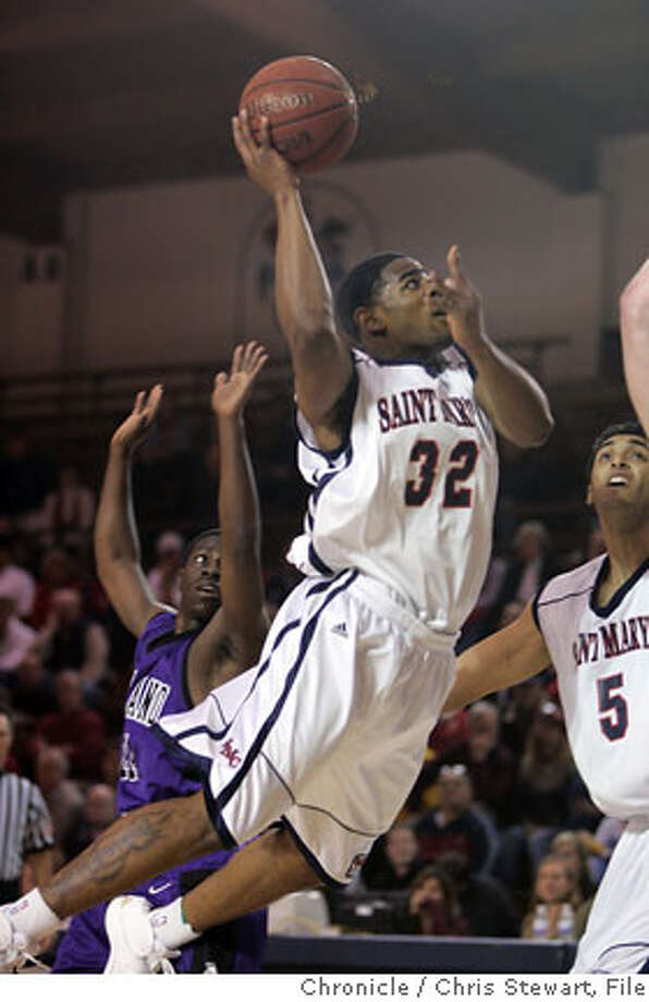 Event on 1/9/06 in Moraga.  The Saint Mary's College Gaels led the University of Portland Pilots 36-32 at the end of the first period at the McKeon Pavilion.  Chris Stewart / The Chronicle Photo: Chris Stewart