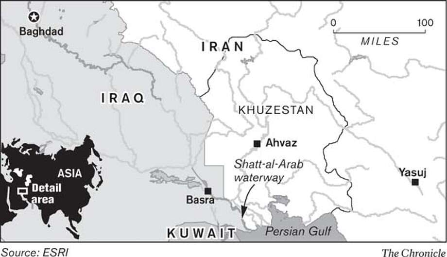 Middle East. Chronicle Graphic