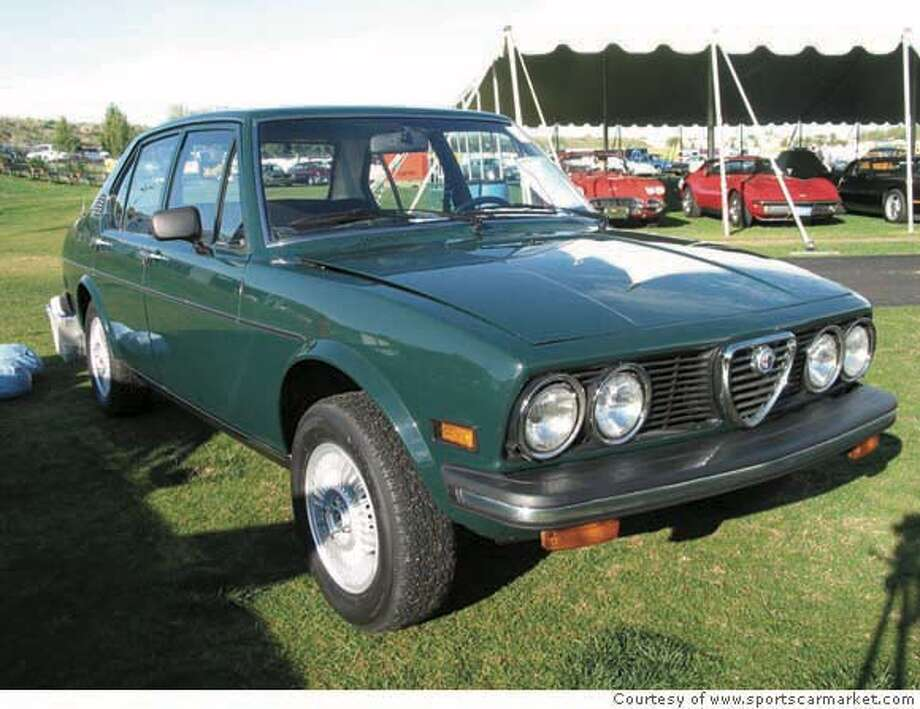 This 1976 Alfetta is essentially the same as Witt's 1976 Alfa Romeo Alfetta. Witt, who owned the '77 gem, sold the car 25 years ago. Photo: Courtesy of www.sportscarmarket.com Photo: Courtesy Of Www.sportscarmarket.