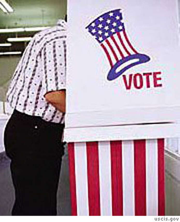 Voting Booth Photo: Uscis.gov