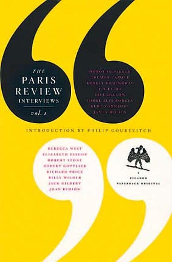 """The Paris Review Interviews, Vol. 1,"" introduction by Philip Gourevitch"