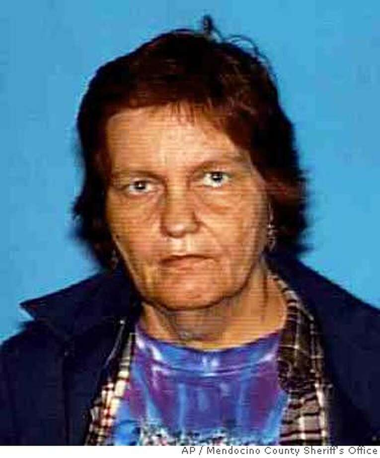 Cheryl Athene Miller is seen in this undated booking mug released by the Mendocino County Sheriff's Office. Miller, 59, killed her four young children between 1965 and 1970 authorities said. (AP Photo/Mendocino County Sheriff's Office) PHOTO RELEASED BY THE MENDOCINO COUNTY SHERIFF'S OFFICE Photo: N