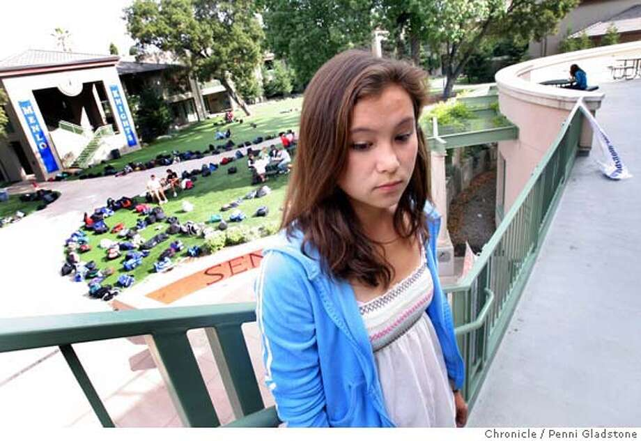 Shown at school on lunch break, Stephanie Chow, a 15-year-old junior at Menlo School used to spend hours on MySpace. It started getting time consuming. I was changing my layout instead of doing my homework. Now she uses Palo Alto-based Facebook. Event on 11/1/06 in Atherton.  Penni Gladstone / The Chronicle MANDATORY CREDIT FOR PHOTOG AND SF CHRONICLE/ -MAGS OUT Photo: Penni Gladstone