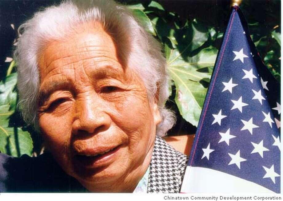 Photo of Bao Yan Chan.  Source: Chinatown Community Development Corporation Photo: Chinatown Community Development