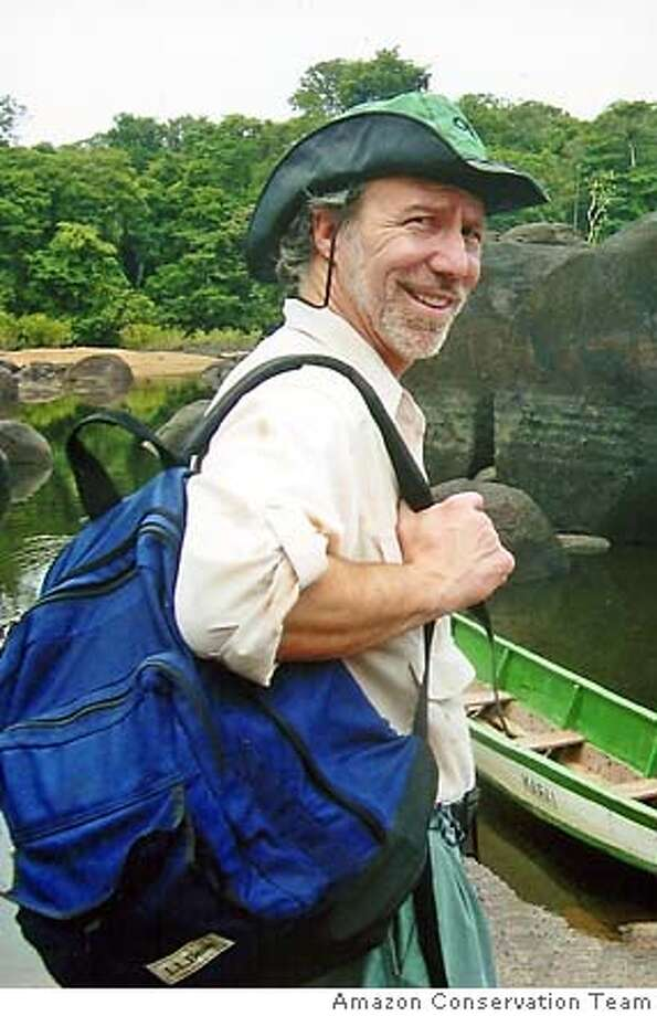 Dr. Mark Plotkin, ethnobotanist and conservation activist, in southern Suriname, South America Photo: Amazon Conservation Team