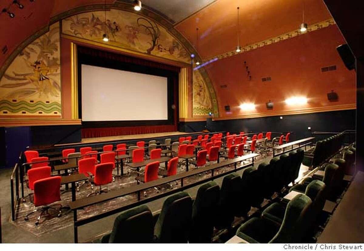 CERRITO01_0014_cs.jpg The restored Cerrito Theater opens tomorrow, November 1, 2006, on San Pablo Avenue at Central Avenue in El Cerrito. Opened in 1937,