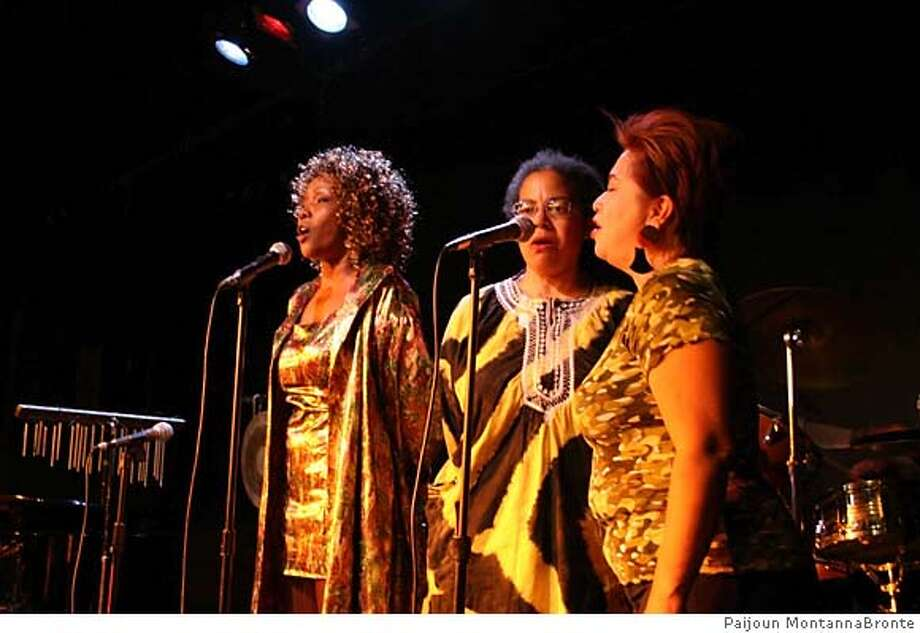 The Medea Project at Lorraine Hansberry Theater with Cheryl Scales, Anita Green and Fe Bongolan. Photo by Paijoun MontannaBronte Photo: Paijoun MontannaBronte