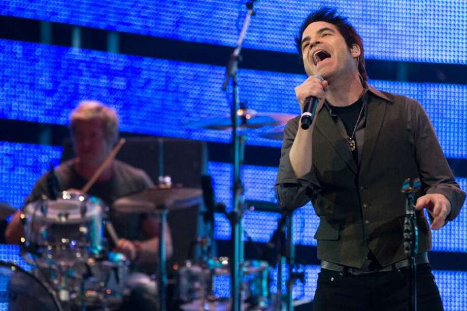Train performs at RodeoHouston on March 16. (Smiley N. Pool / Houston Chronicle)