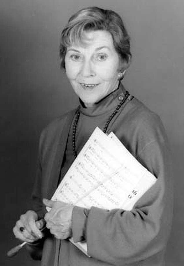 OBIT-- Winifred Baker, undated family handout. FAMILY HANDOUT PHOTO. Photo: Handout