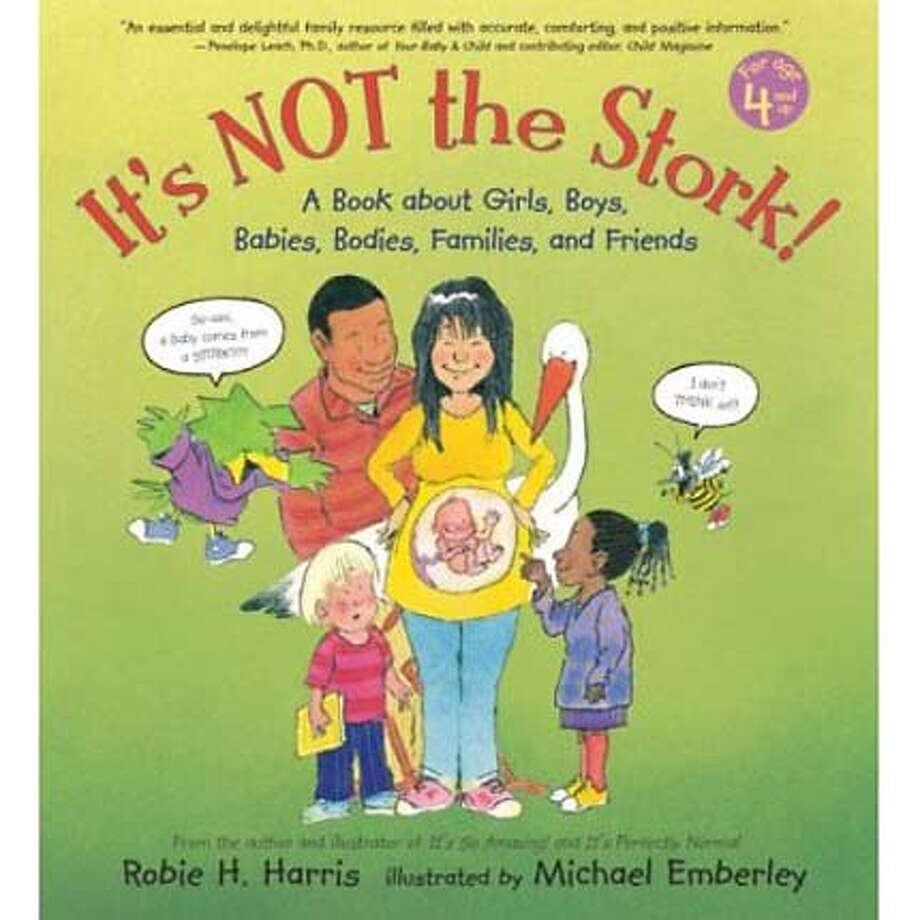 """""""It's Not the Stork"""" by Robie H. Harris"""