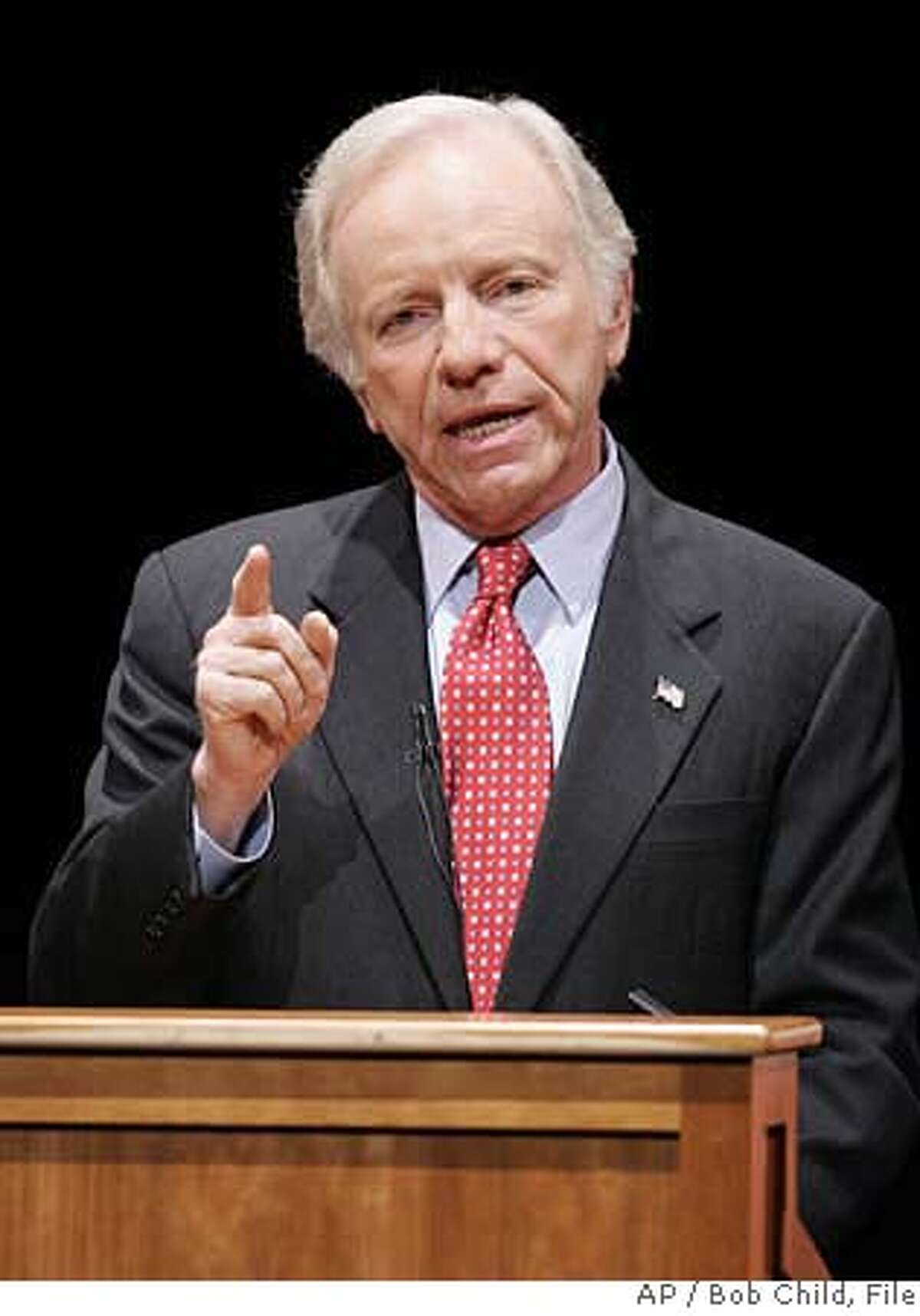 The U.S. Senator from Connecticut ran as an independent in 2006 after losing in the Democratic Primary.