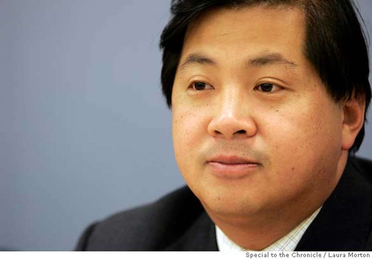 BART Board of Directors member James Fang is up for re-election.