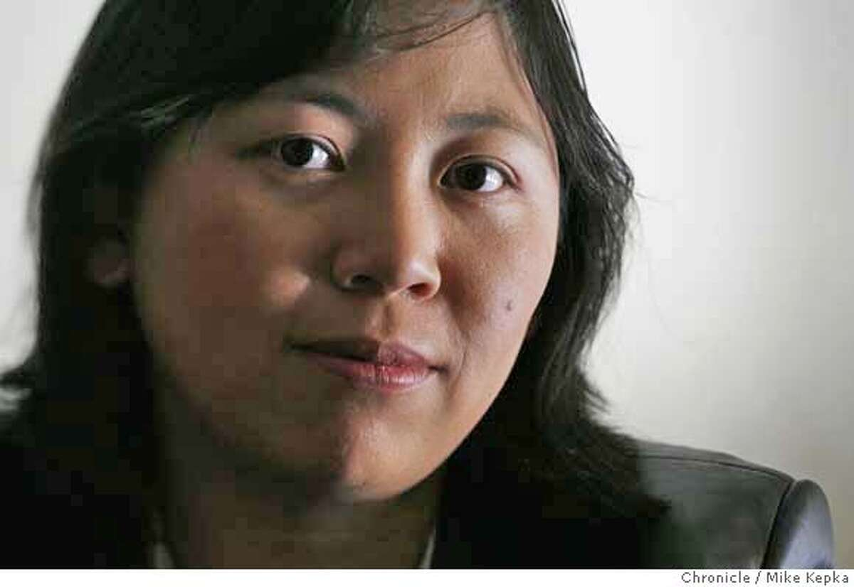 whiting00143_mk.JPG Yiyun Li is one of three local recipients of this years top literary honor called the Whiting Award. Photo taken on 10/17/06. Mike Kepka / The Chronicle MANDATORY CREDIT FOR PHOTOG AND SF CHRONICLE/ -MAGS OUT