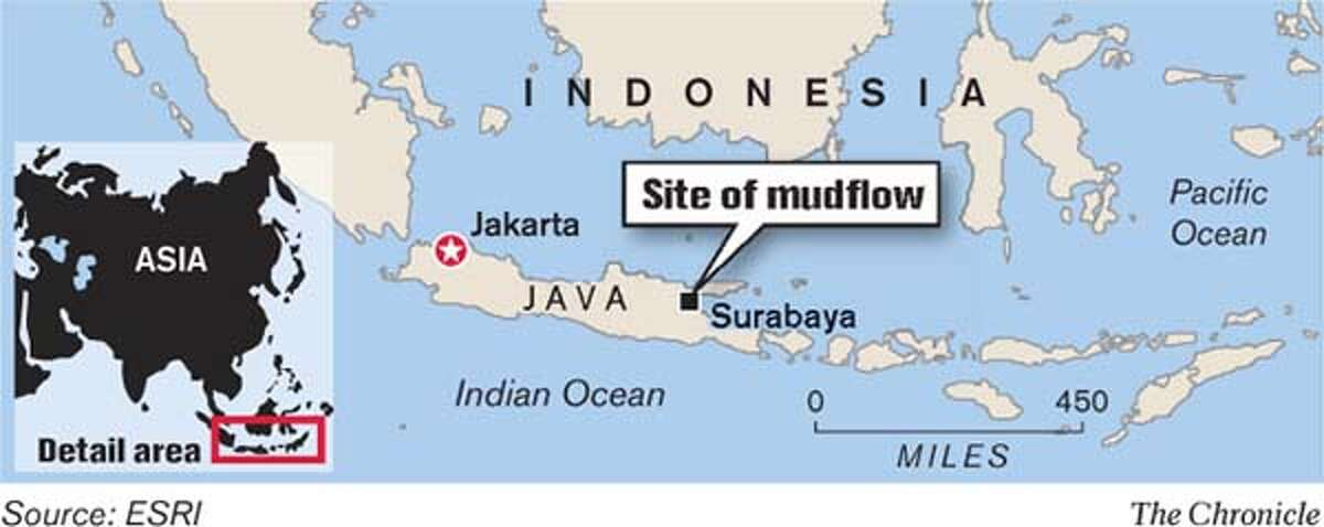 East Java, Indonesia. Chronicle Graphic