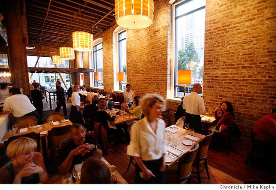 whatsnew25_SaltHouse00031_mk.JPG Brought to you by the people who do Town Hall, Salt House at 545 Mission Street is the newest restaurant in the neighborhood Photo taken on 10/21/06.  Mike Kepka / The Chronicle MANDATORY CREDIT FOR PHOTOG AND SF CHRONICLE/ -MAGS OUT Photo: Mike Kepka
