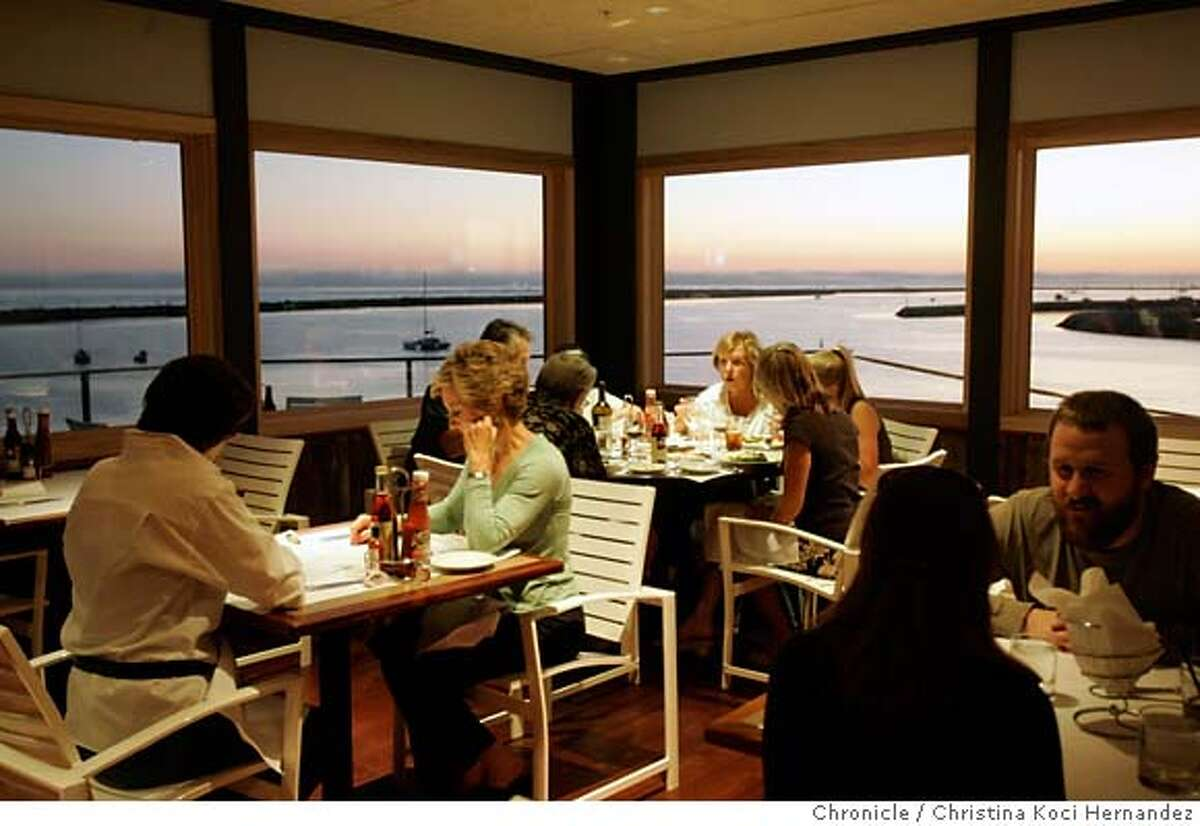 This is for a what's new lede. Sam's Chowder House is a new restaurant that is opening in Half Moon Bay right on the coast. It is a traditional New England Seafood restaurant. Please get the restaurant interior with people dining. (CHRISTINA KOCI HERNANDEZ/THE CHRONICLE) Mandatory Credit For Photographer and San Francisco Chronicle/No-Sales-Mags Out
