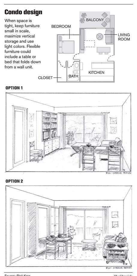 Condo Design. Chronicle Graphic