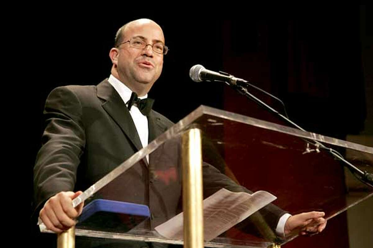 INTERNATIONAL RADIO AND TELEVISION SOCIETY FOUNDATION -- NBC Universal Event -- Thursday, March 9, 2006 from The Waldorf-Astoria, New York -- Pictured: Jeff Zucker, Chief Executive Officer, NBC Universal Television Group -- International Radio and Television Society Foundation Gold Medal Award Dinner honors Jeff Zucker, Chief Executive Officer, NBC Universal Television Group -- NBC Universal Photo: Virginia Sherwood Ran on: 10-23-2006 NBCs restructuring has a whiff of Jeff Zucker about it, with only reality and game shows running from 8 to 9 p.m. Ran on: 10-23-2006