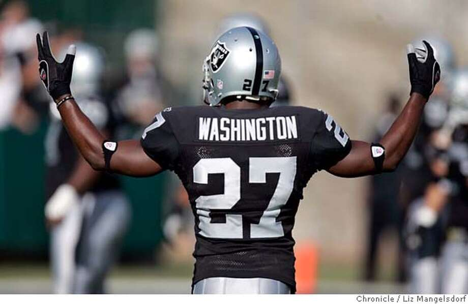 "Oakland Raiders draft picks: where are they now?2005: Fabian WashingtonThe first round cornerback tanked with the Raiders, lasting only a few years. When he was traded to the Ravens in 2008, he was blunt about his Raiders career.If I was playing well, I would still be there right now,"" he said. ""I was playing terrible. At the time, I would have traded myself if I was playing that bad.""Washington left the league in 2011 and now co-hosts a Florida radio show called Florida Boy Sports. He's also extremely active on Twitter, live-tweeting Raiders games. Photo: Liz Mangelsdorf"