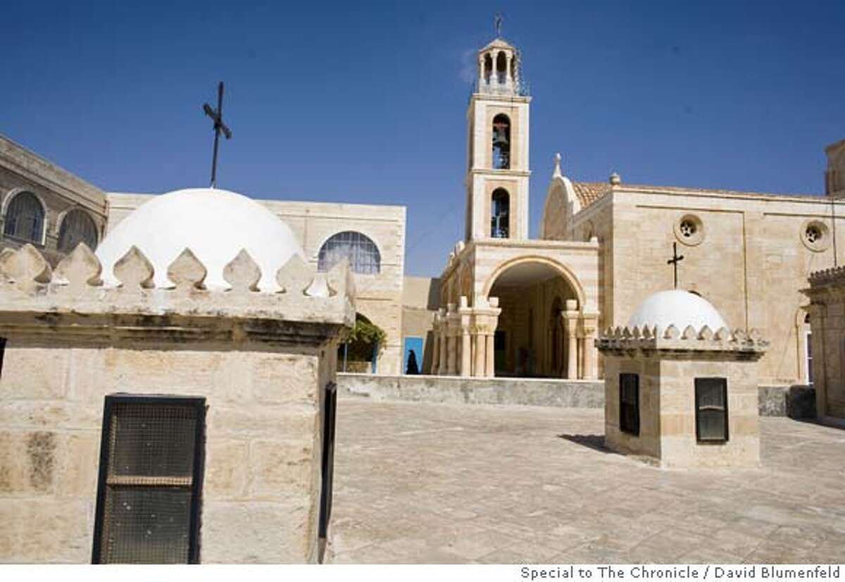 Near Bethlehem, West Bank: Monastery of St. Theodosius, the site where British Archeologist, Sean Kingsley, states in his book, God's Gold, The Quest for the Lost Temple Treasure of Jerusalem, is the likely place where the treasures of the Jewish Temple were buried. David Blumenfeld/Special to The Chronicle NO MAGS, , NO TV