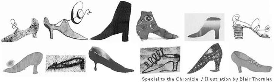Shoe Fetish. Illustration by Blair Thornley, special to the Chronicle
