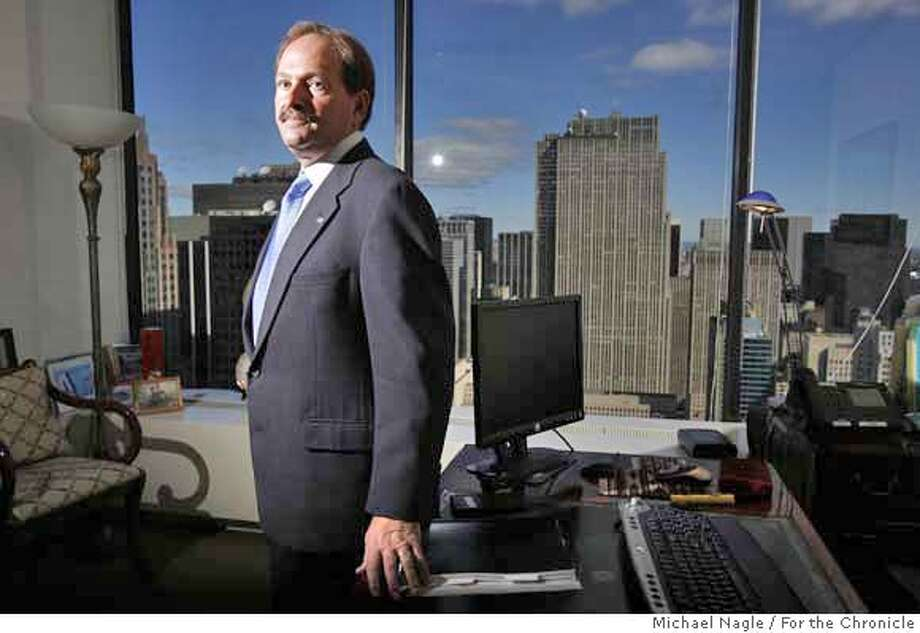 NEW YORK - OCTOBER 5, 2006: Prominent New York lawyer Bart Schwartz-- one of the top corporate investigators in the country-- poses for portraits in his Midtown Manhattan office on October 5, 2006 in New York City. Schwartz, a former prosecutor who worked alongside former NYC Mayor Rudy Guiliani, was hired by Hewlett-Packard to review it's investigative policies and procedures. (Photograph by Michael Nagle for The San Francisco Chronicle) Reporter Jessica Guynn Photo: Michael Nagle