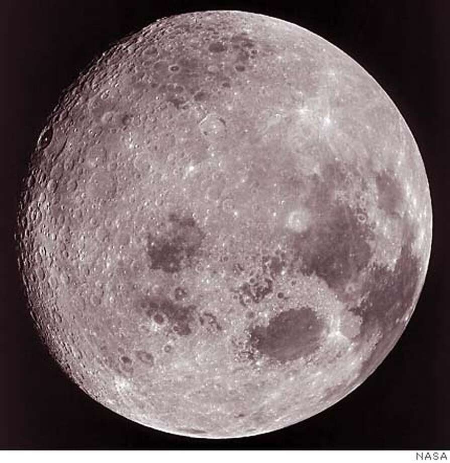 The moon has sparked humankind's imagination since prehistory. And it seems that for nearly as long there has been someone who wants to claim it -- and subdivide it. Photo courtesy of NASA