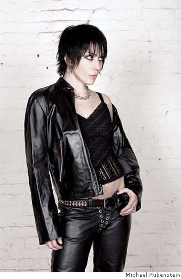 Photo of Joan Jett. Photo credit: Michael Rubenstein  Ran on: 07-02-2006  Joan Jett: moving past kitschy &quo;I Love Rock 'n' Roll&quo; and into new lyrical territory. Photo: Michael Rubenstein