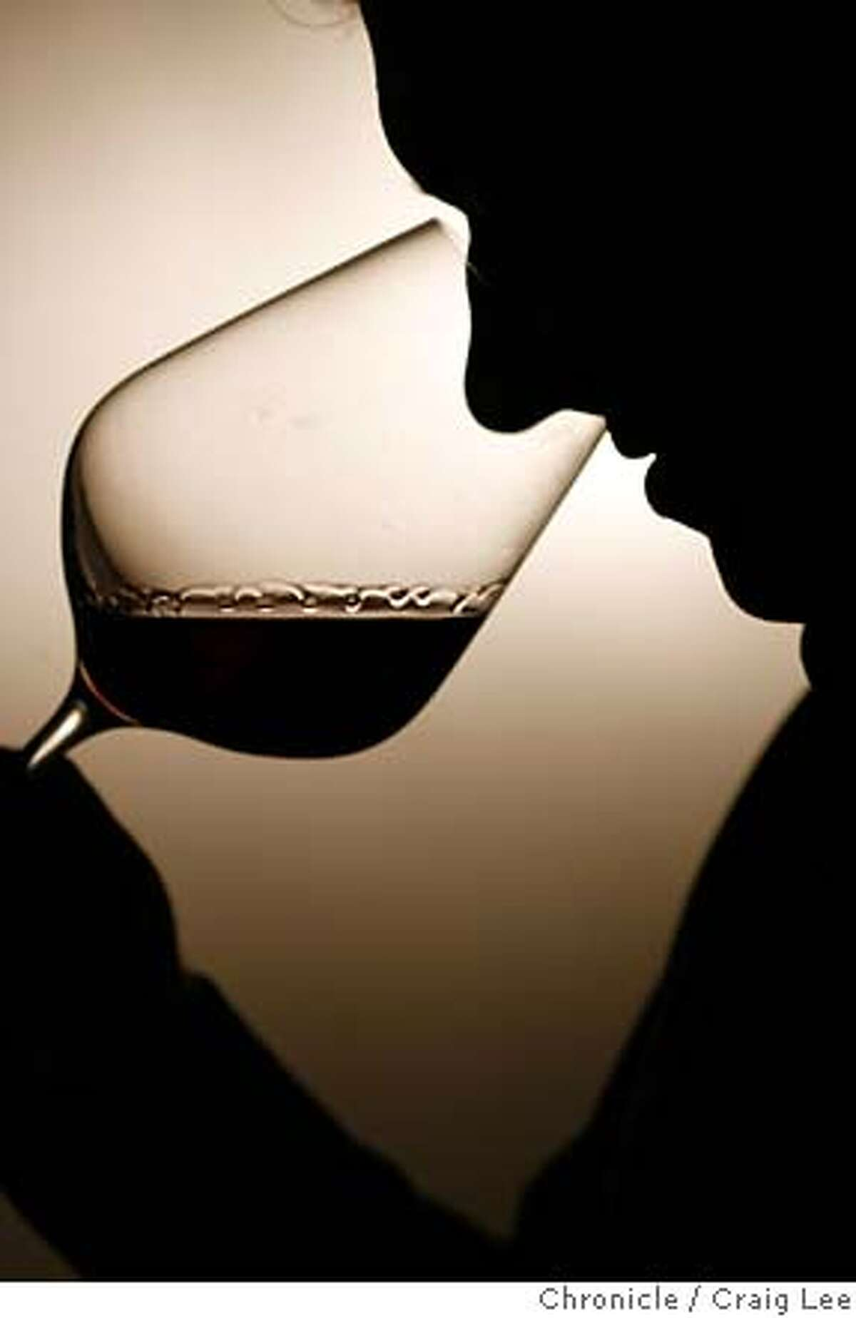 RIEDEL_014_cl.JPG Photo of someone using a Riedel wine glass to smell a glass of wine. Craig Lee / The Chronicle MANDATORY CREDIT FOR PHOTOG AND SF CHRONICLE/ -MAGS OUT