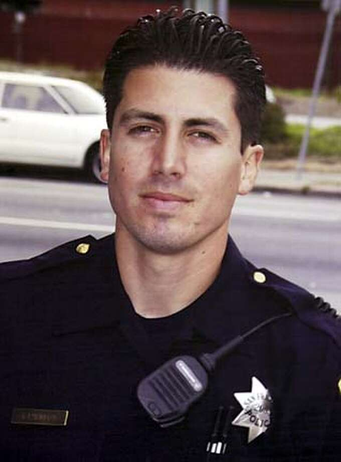 ** FILE **Undated photo of slain San Francisco Police Officer Isaac Espinoza, who was shot Sunday in the Hunterspoint Bayview area of San Francisco. Espinoza, 29, was working undercover in one of the city's most troubled neighborhoods late Saturday when he was shot twice. It was the first killing of an on-duty officer in San Francisco since 1994. (AP Photo/San Francisco Police Dept via The San Francisco Chronicle) Officer Isaac Espinoza was working undercover when he was shot twice and killed. Officer Isaac Espinoza was working undercover in the Bayview district when he was shot and killed. ProductName	Chronicle Ran on: 09-13-2004  Kamala Harris Ran on: 09-13-2004  Kamala Harris  Ran on: 08-13-2006  Officer Isaac Espinoza  Ran on: 08-13-2006 UNDATED PHOTO; SAN FRANCISCO POLICE DEPT VIA THE SAN FRANCISCO CHRONICLE Photo: AP Photo/San Francisco Police D