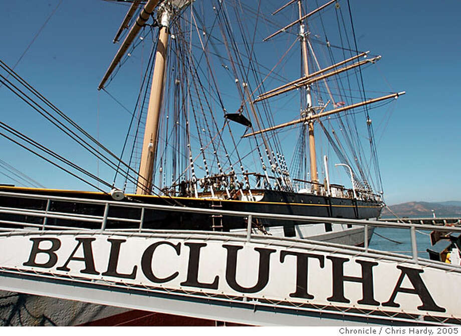 Travel story on SF: the Balclutha and the hostel at Fort Mason..  in San Francisco  6/15/05 Chris Hardy / San Francisco Chronicle Photo: Chris Hardy