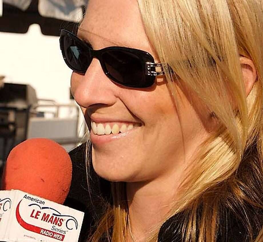Handout photos of British racer and rider Liz Halliday.  Photo courtesy Liz Halliday Photo: HANDOUT