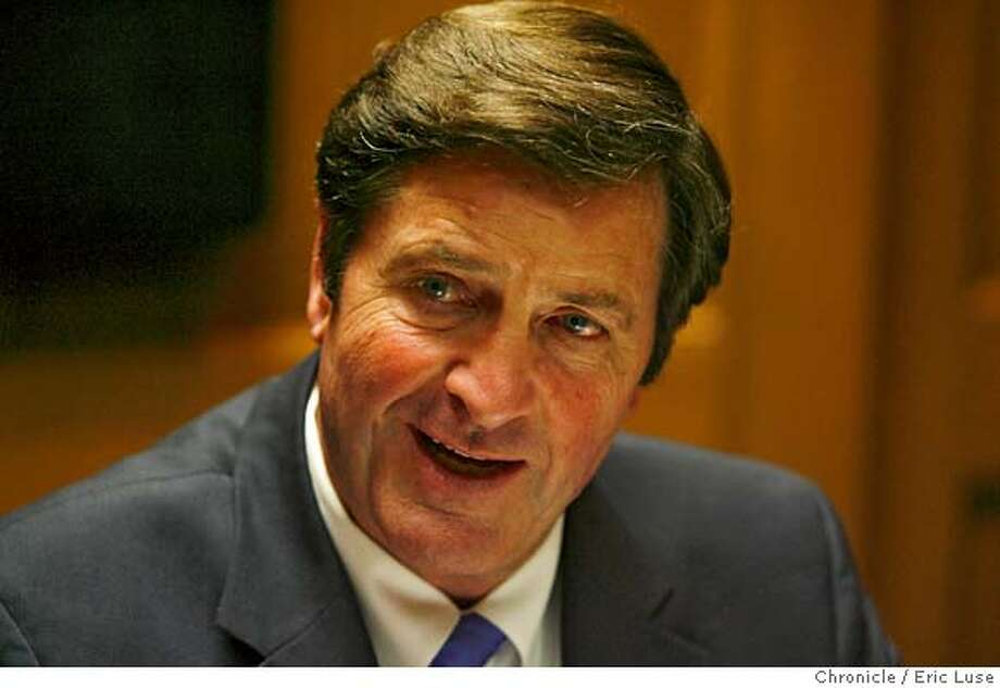 garamendi_007_el.jpg  Insurance Commissioner John Garamendi photographed at the San Francisco Chronicle. Eric Luse/The Chronicle Names (cq) from source MANDATORY CREDIT FOR PHOTOG / Photo: Eric Luse