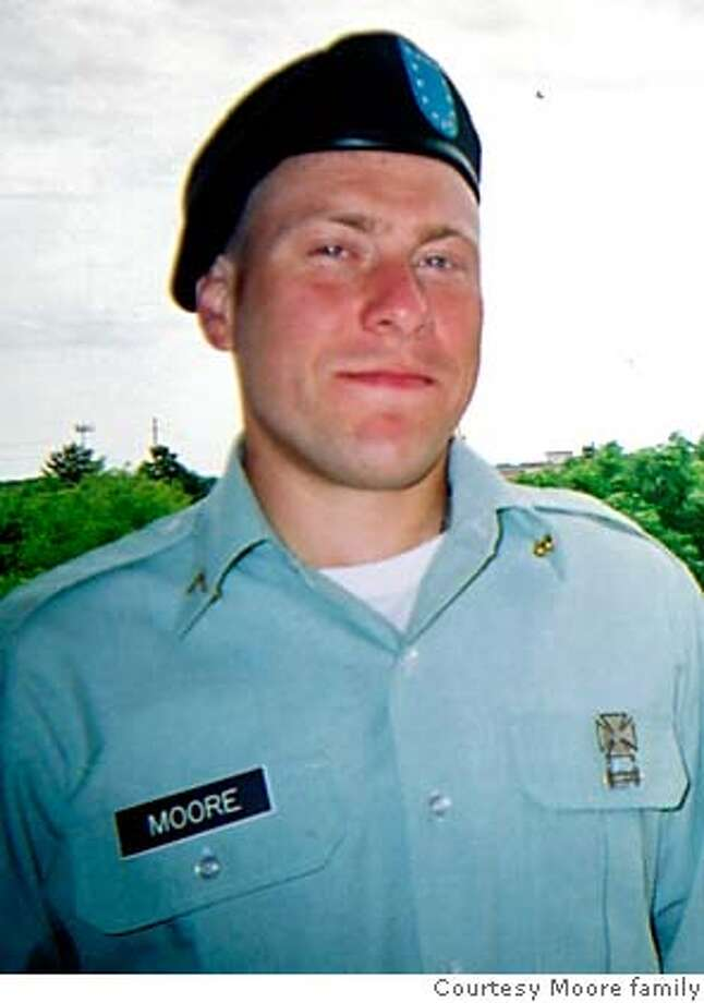 OBIT photo of PFC Keith Moore of San Francisco  Photo courtesy Moore family Photo: M