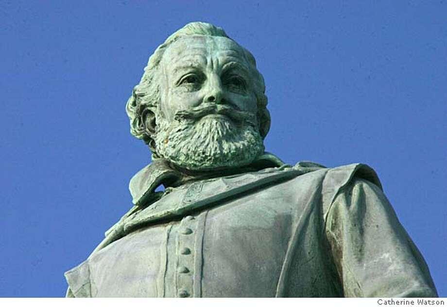 Statue of John Smith at Historic Jamestown Photo: Photo Credit: Catherine Watson