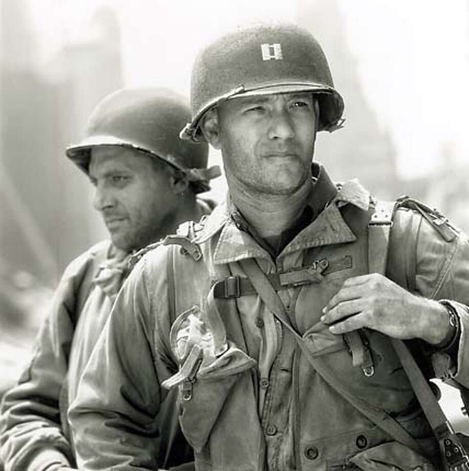 ".jpg Tom Hanks stars in ""Saving Private Ryan."" handout/ handout Photo: Handout"