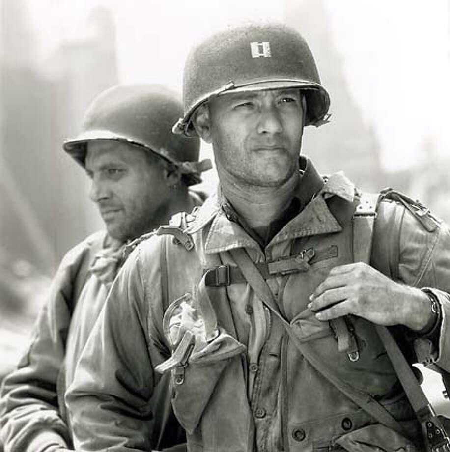 ".jpg Tom Hanks stars in ""Saving Private Ryan."" handout/ handout Photo: Handout"