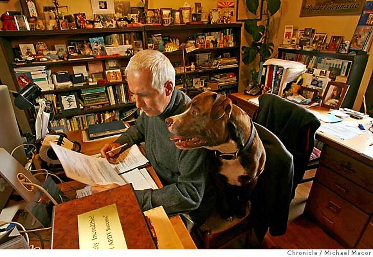 dunbar_385_mac.jpg Dr. Dunbar with his American Bulldog,