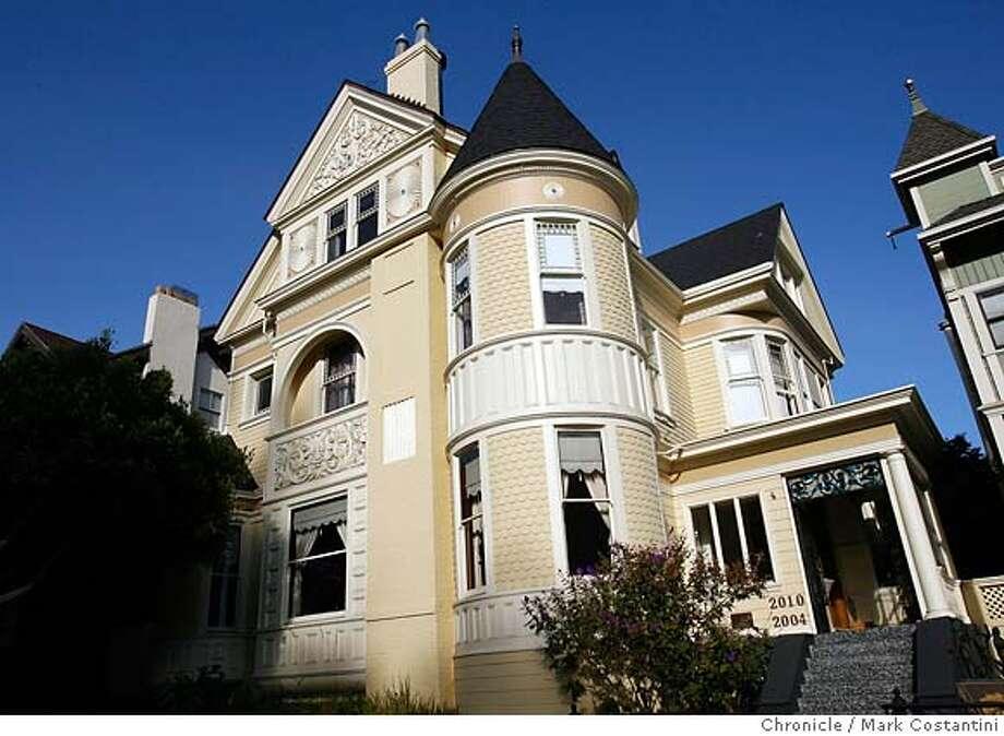 Pre quake mansions as modern homes victorian alliance for San francisco modern homes
