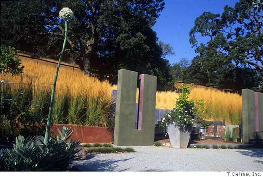 The Pantazelos garden by Topher Delaney. Credit: T. Delaney, Inc. Photo: T. Delaney, Inc.