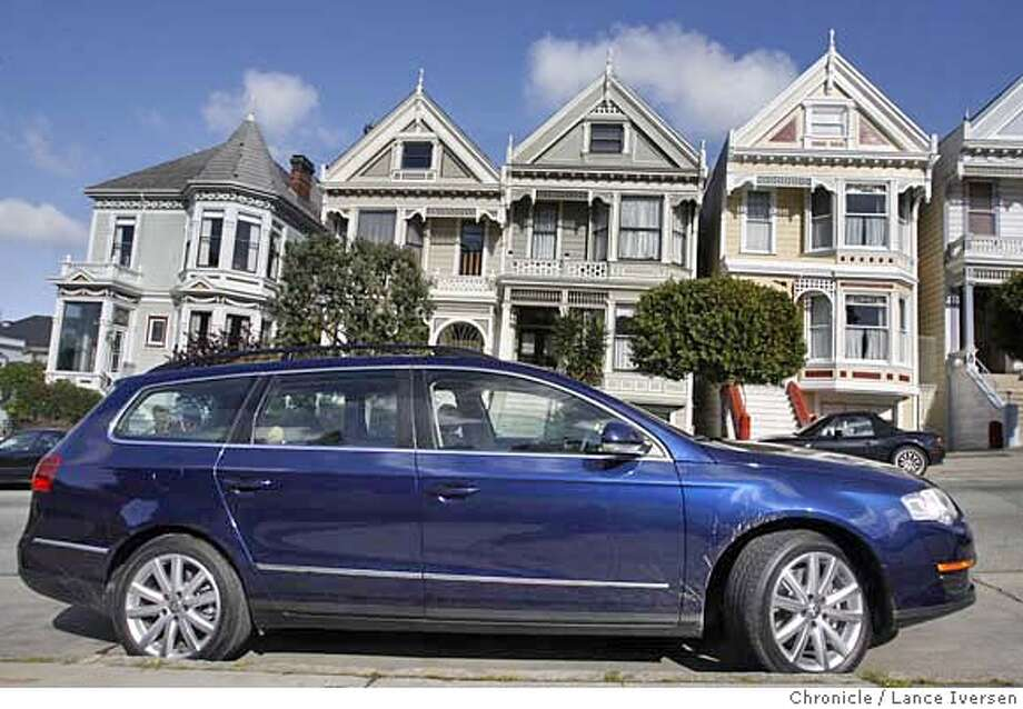 MOTORXXPASSAT_0016.jpg_  Test drive of the new VW Passat wagon. By Lance Iversen/San Francisco Chronicle Ran on: 10-13-2006  On a test drive, the car had perky pickup and could thread its way easily through traffic.  Ran on: 10-13-2006 Ran on: 10-13-2006 Ran on: 10-13-2006 Photo: Lance Iversen