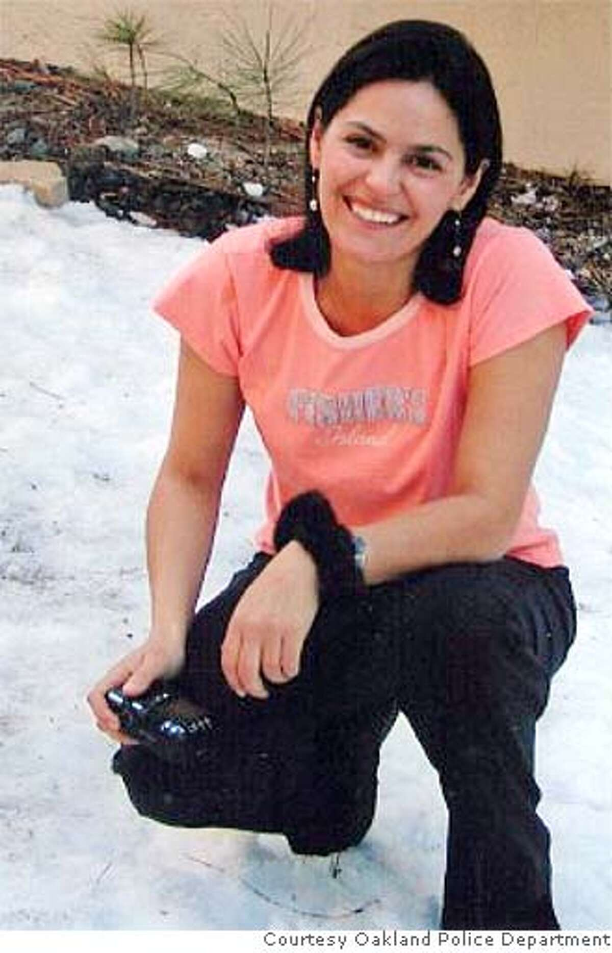 Nina Reiser, 31, was last seen at her husband's home dropping off their two children on Sept. 3. Police believe she is dead, but her body has not been found. Photo courtesy Oakland Police Department