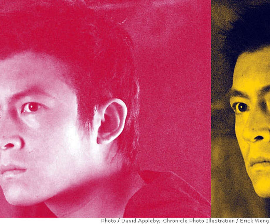 Edison Chen. Photo by David Appleby. Chronicle photo illustration by Erick Wong