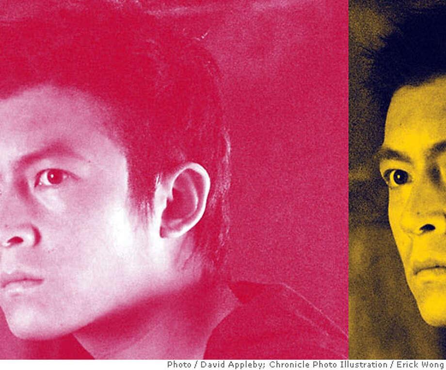 Edison Chen. Photo by David Appleby. Chronicle photo illustration by Erick Wong