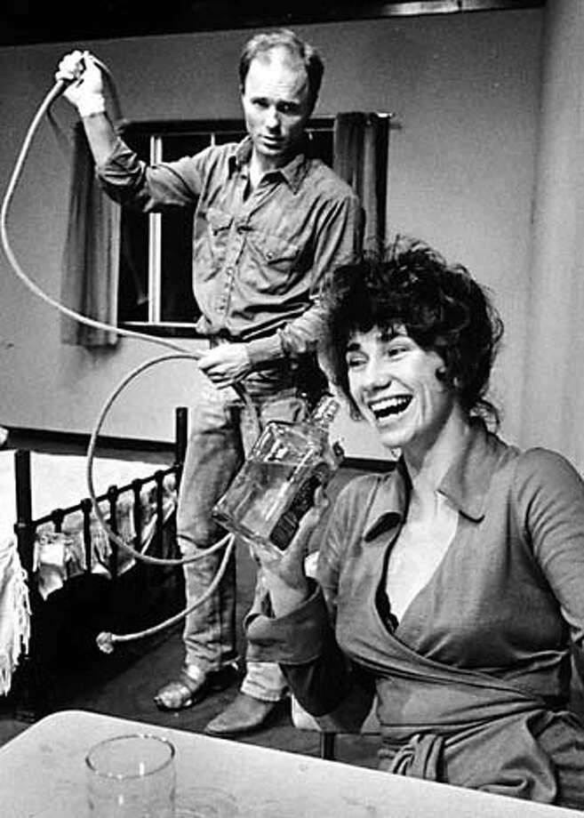 "Ed Harris and Kathy Bates in the Magic Theatre's world premiere of Sam Shepard's ""Fool for Love'' (1982)."